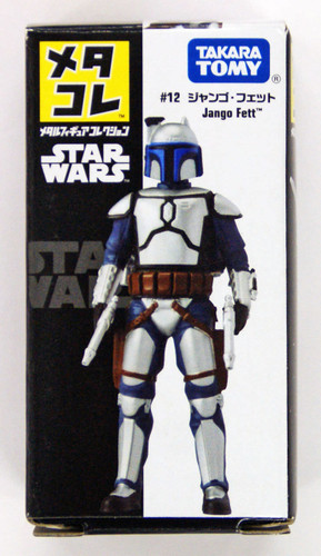 Takara Tomy Disney Star Wars Metakore Metal Figure #12 Jango Fett 867791