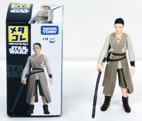 Takara Tomy Disney Star Wars Metakore Metal Figure #14 Rey 841852