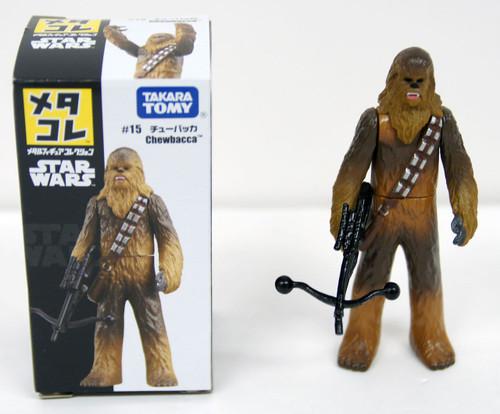 Takara Tomy Disney Star Wars Metakore Metal Figure #15 Chewbacca 841678