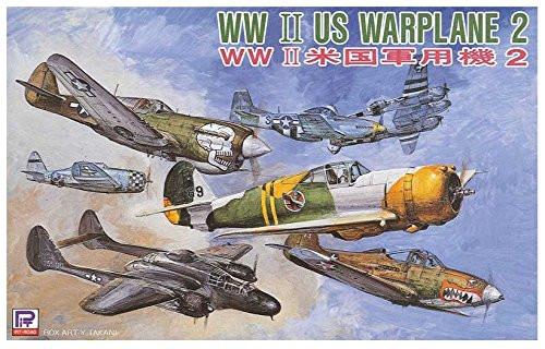 Pit-Road Skywave S-43 WWII US Warplane set 2 1/700 Scale Kit