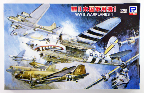 Pit-Road Skywave S-42 WWII US Warplane set 1 1/700 Scale Kit