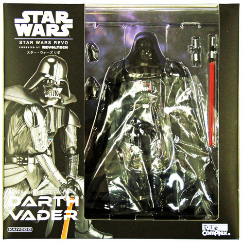 Kaiyodo Star Wars Revo (Revoltech) Series No. 001 Darth Vader Figure