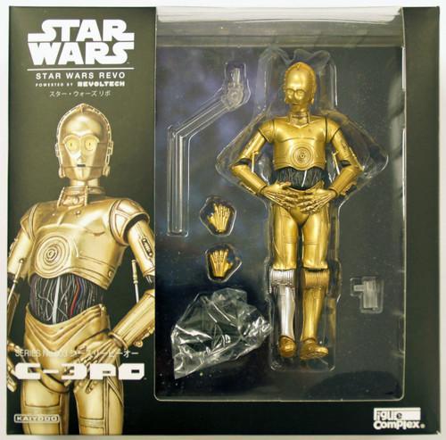 Kaiyodo Star Wars Revo (Revoltech) Series No. 003 C-3PO (C3PO) Figure