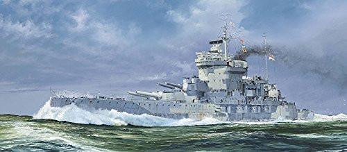 Pit-Road Skywave W-152 HMS BattleShip Warspite 1942 1/700 Scale Kit
