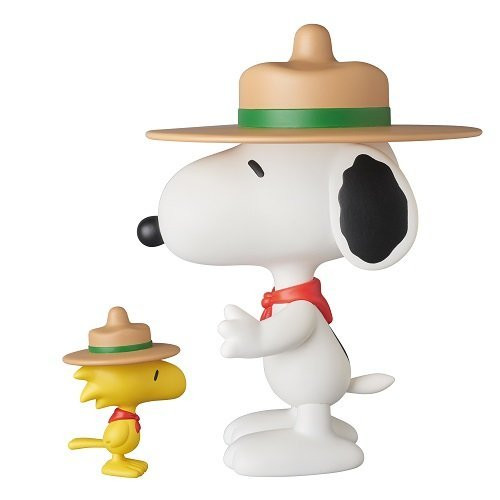 Medicom VCD-258 Beagle Scout Snoopy and Woodstock Vinyl Figure