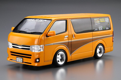 Aoshima 52372 Hot Company TRH200V HIACE '12 1/24 scale kit