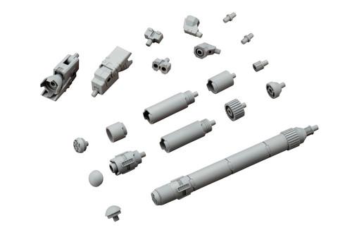 Kotobukiya MSG Modeling Support Goods MJ04 Mecha-Supply Propellant Tank (Round)
