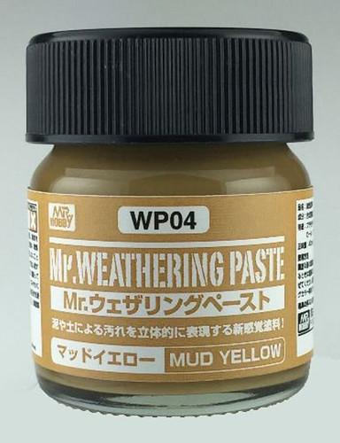 GSI Creos Mr.Hobby WP04 Mr. Weathering Paste Mud Yellow (40 ml)