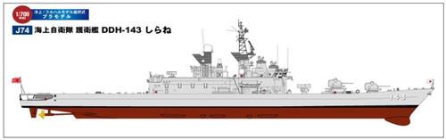 """Pit-Road Skywave J-74 JMSDF Submarine Ship DDH-143 """"Shirane"""" 1/700 scale kit"""