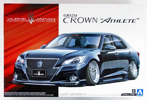 Aoshima 08560 Vlene GRS214 Crown Athlete G '12 (TOYOTA) 1/24 scale kit