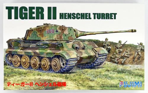 Fujimi SWA09 Tiger II (Henschel Turret) 1/76 scale kit