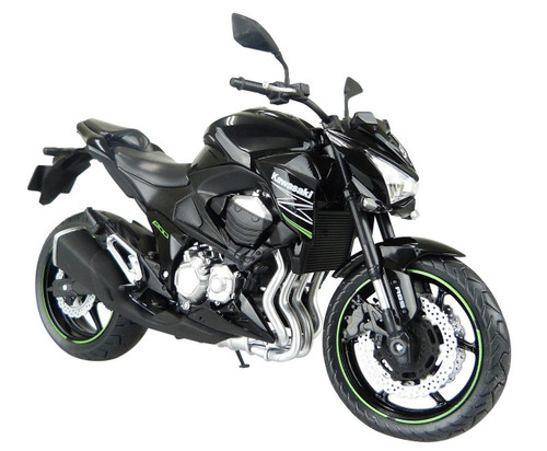 Aoshima Skynet 85660 Kawasaki Z800 Black 1/12 Scale Model