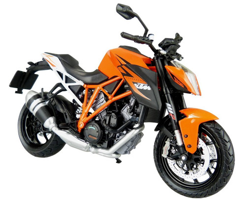 Aoshima Skynet 85677 KTM 1290 Super Duke R Orange 1/12 Scale Model
