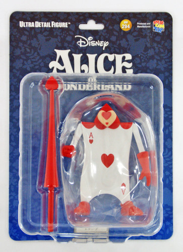 Medicom UDF-294 Ultra Detail Figure Alice in Wonderland Trump Figure