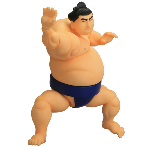 Kaiyodo Soft Vinyl Toy Box STB004 Sumo Wrestler Figure