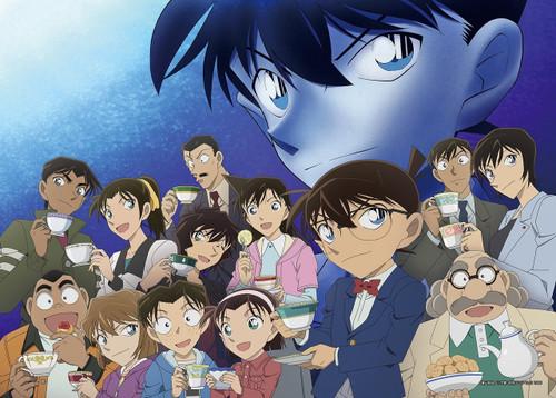 Epoch Jigsaw Puzzle 29-201 Case Closed Detective Conan (1000 S-Pieces)