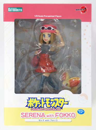 Kotobukiya PP662 ARTFX J Pokemon Serena with Fennekin 1/8 Scale Figure