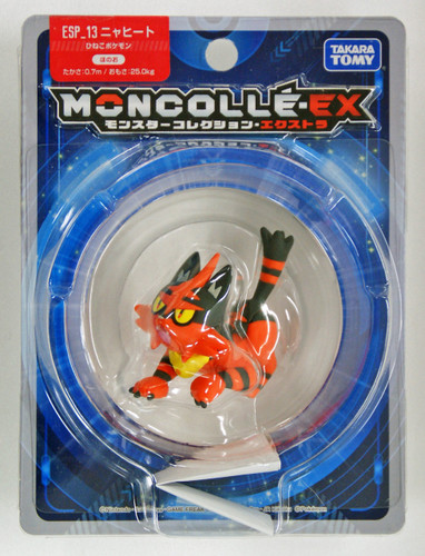 Takara Tomy Pokemon Moncolle Monster Collection EX ESP_13 Torracat (Nyaheat)