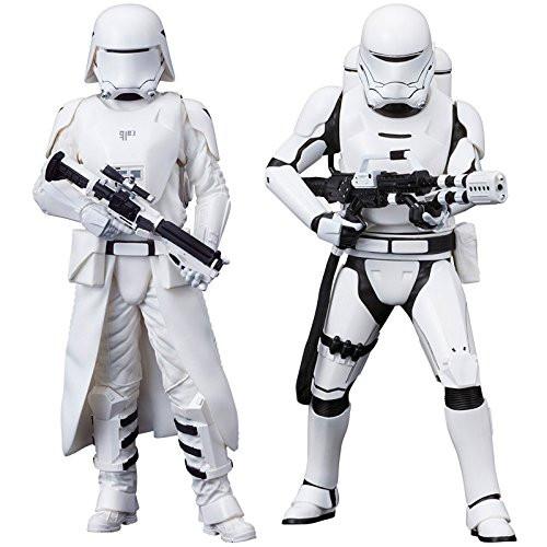 Kotobukiya SW123 Star Wars The Force Awakens First Order Snowtrooper & Flametrooper 1/10 Scale Figure Set