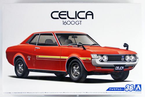 Aoshima 53188 The Model Car 36 Toyota TA22 Celica 1600GT '72 1/24 scale kit