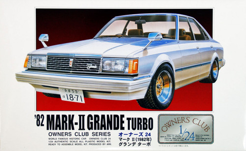 Arii Owners Club 1/24 20 1982 Toyota Mark II 1/24 Scale Kit (Microace)