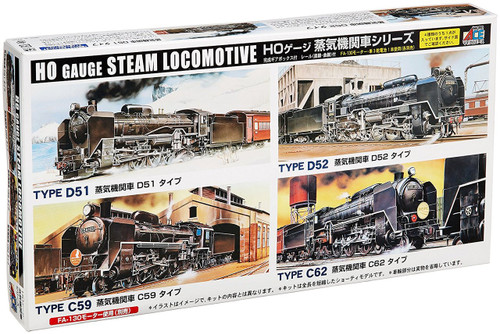Arii 715024 HO Gauge Steam Locomotive Type D52 1/80 Scale Kit (Microace)
