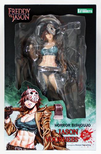 Kotobukiya SV210 Freddy vs Jason Horror Bishoujo Jason Voorhees 1/7 Scale Figure