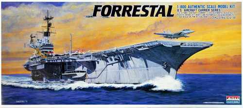 Arii-17 618172 USS Aircraft Carrier Forrestal 1/800 Scale Kit (Microace)
