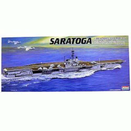 Arii-18 618189 USS Aircraft Carrier Saratoga CV-60 1/800 Scale Kit (Microace)
