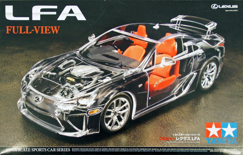"Tamiya 24325 Lexus LFA ""Full View"" 1/24 Scale Kit"