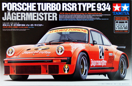 Tamiya 24328 Porsche Turbo RSR Type 934 Jagermeister 1/24 Scale Kit