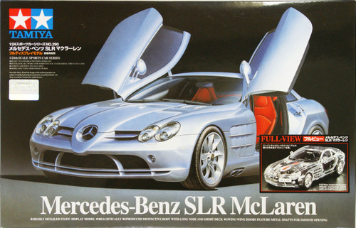 Tamiya 24331 Mercedes Benz SLR McLaren Full View 1/24 Scale Kit