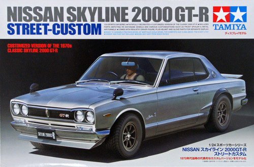 Tamiya 24335 Nissan Skyline 2000 GT-R Street-Custom 1/24 Scale Kit