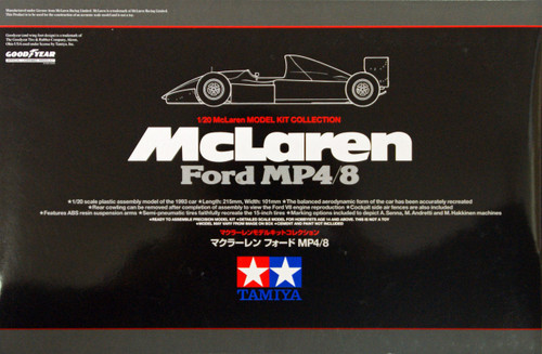 Tamiya 25172 McLaren Ford MP4/8 1/20 Scale Kit