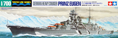 Tamiya 31805 German Heavy Cruiser PRINZ EUGEN 1/700 Scale Kit