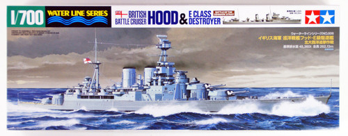 Tamiya 31806 British Battle Cruiser HOOD 1/700 Scale Kit