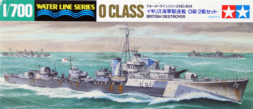 Tamiya 31904 British Destroyer O Class 1/700 Scale Kit