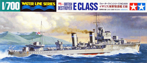 Tamiya 31909 British Navy Destroyer E CLASS 1/700 Scale Kit
