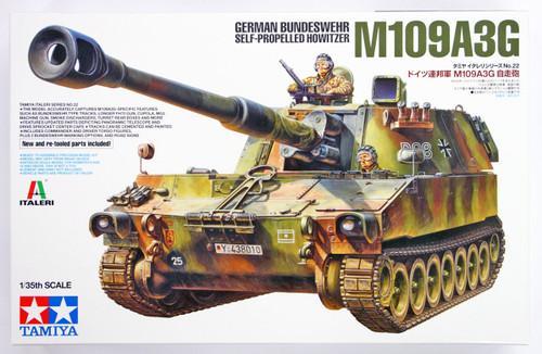 Tamiya 37022 German Bundeswehr Self-Propelled Howitzer M109A3G 1/35 Scale Kit