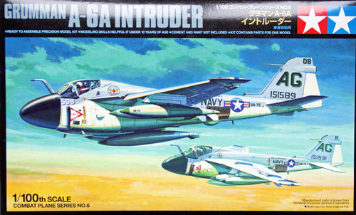 Tamiya 61606 Combat Plane Series No.6 Grumman A-A6 Intruder 1/100 Scale Kit