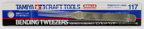 Tamiya 74117 Craft Tools - Bending Tweezers (For Photo Etched Parts)