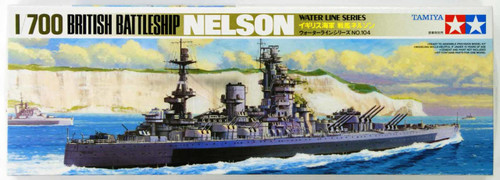 Tamiya 77504 British Battleship NELSON 1/700 Scale Kit