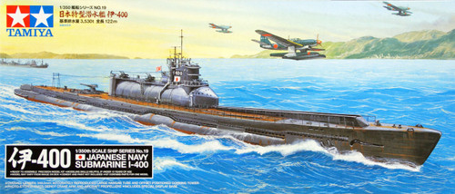 Tamiya 78019 Japanese Navy SUBMARINE I-400 1/350 Scale Kit