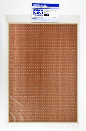 Tamiya 87168 Diorama Material Sheet (Brickwork)