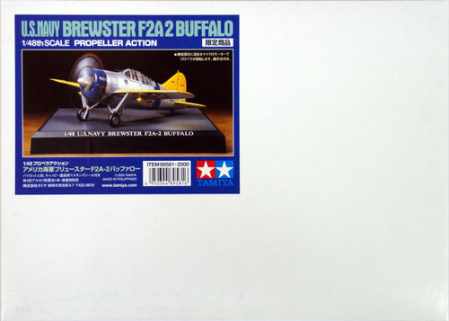 Tamiya 89581 US Navy Brewster F2A-2 Buffalo 1/48 Scale Kit