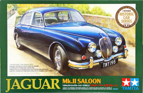 Tamiya 89653 Jaguar Mk.II Saloon 1/24 Scale Kit