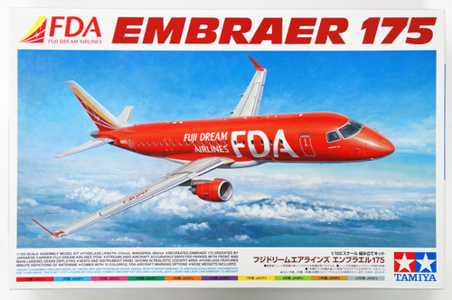 Tamiya 92197 Fuji Dream Airlines Embraer 175 1/100 Scale Kit