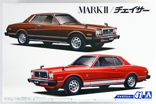 Aoshima 53409 The Model Car 41 Toyota MX41 Mark II/ Chaser 1979  1/24 scale kit