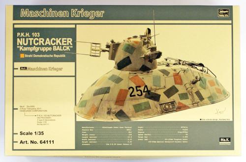 "Hasegawa 64111 Maschinen Krieger P.K.H.103 Nutrocker ""Kampfgruppe Bark"" 1/35 scale kit"