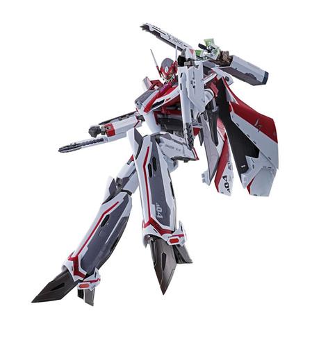 Bandai 161196 DX Chogokin Macross Delta VF-31C SIEGFRIED (Mirage Farina Jenius Custom) Diecast Figure